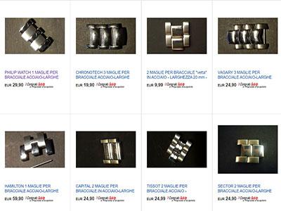 maglie per bracciali orologi