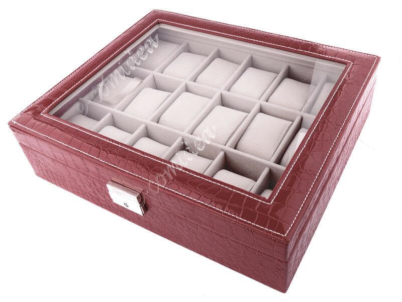 scatola porta orologi